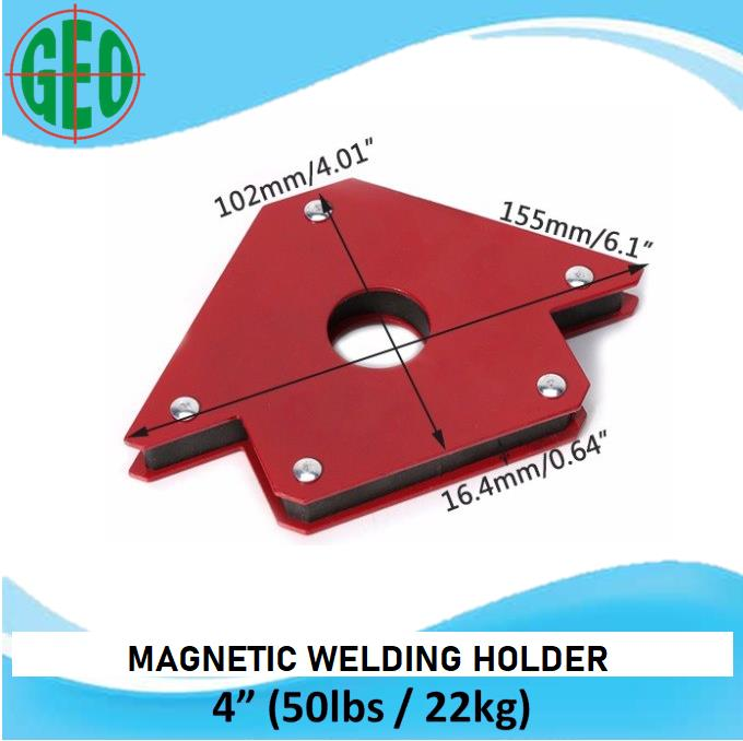 Am Tech 4 Piece Magnetic Welding Holders
