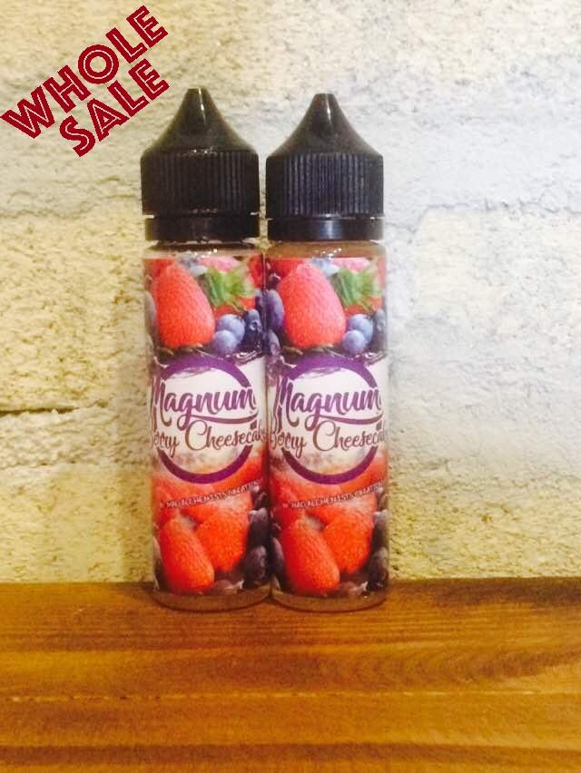 Magnum Berry Cheesecake (6MG & 12MG @ 55ML) E Liquid Vape Juice