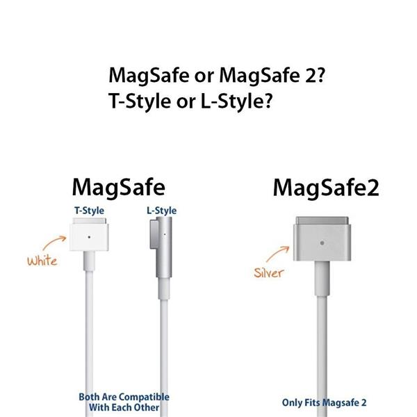 MagSafe 2 45w 60w 85w L-tip Power Cable Charger for Macbook
