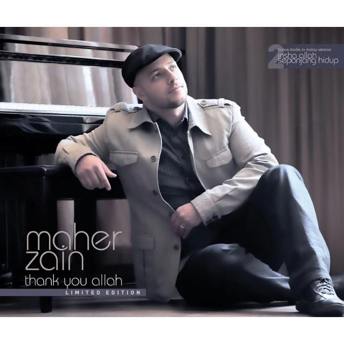 MAHER ZAIN - Thank You Allah Limited Edition CD