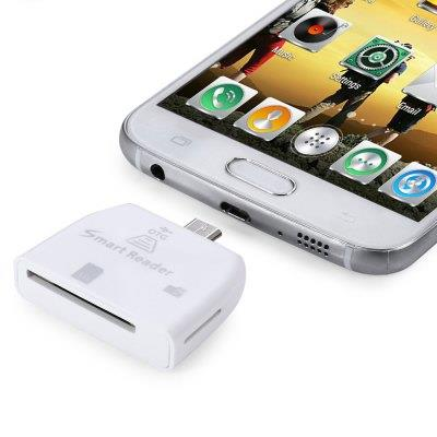Maikou Portable TF / SD Card Reader with Micro USB Interface