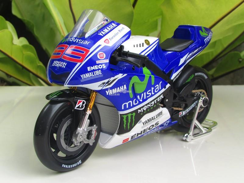 Maisto 1/10 MotoGP 2014 Yamaha YZR (end 4/15/2018 12:34 PM)