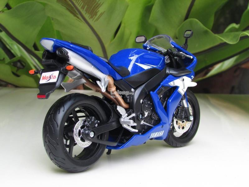 Maisto 1 12 Diecast Motorcycle Yamaha Yzf R1 Blue