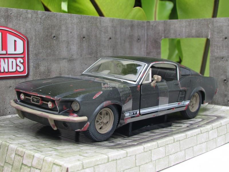 Maisto 1/24 OLD FRIENDS Classic Car 1967 Ford Mustang GT Grey