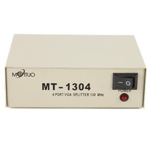 MAITOU VGA 1 IN TO 4 OUT VIDEO SPLITTER (MT-1304)