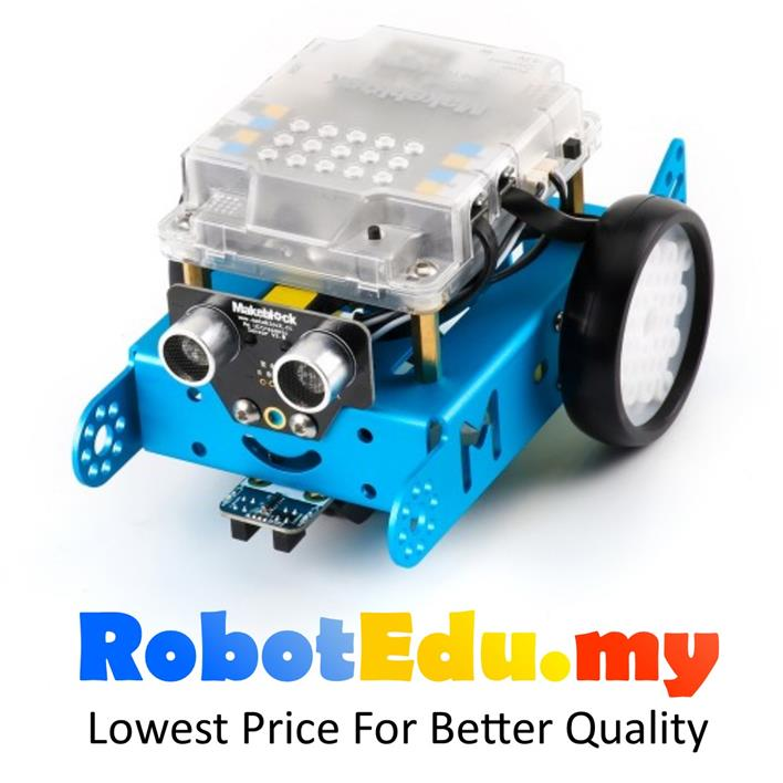 MakeBlock mBot v 1.1 Blue Bluetooth 2.4G Version STEM Education Robot