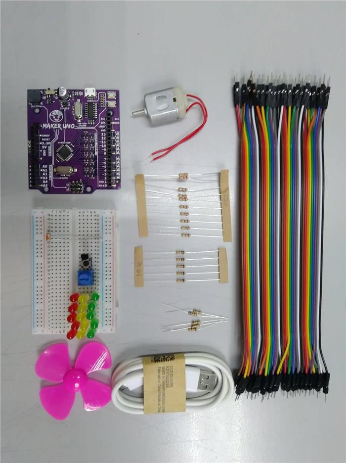 Maker Uno Starter Kit (Arduino Compatible)
