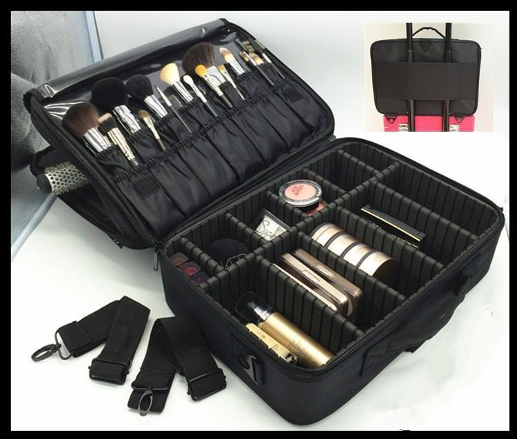Makeup Compartment Bag Hair Tools Suitable For Travel Artist