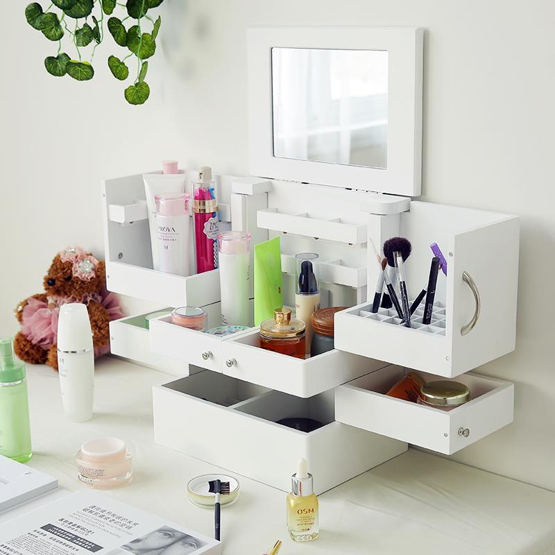 Makeup Organizer Accessory Storage Multiple Drawers Desktop Drsser
