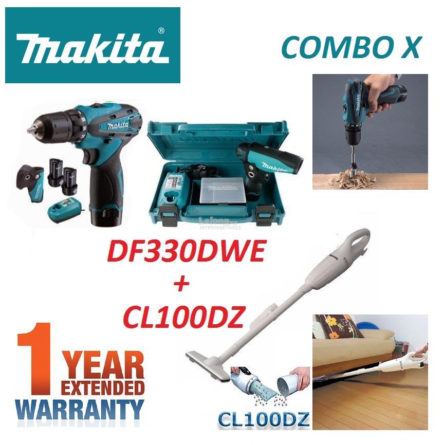 Tidsmæssigt Makita 10.8V Combo-X Cordless Drill (end 4/11/2020 6:15 PM) NZ-64