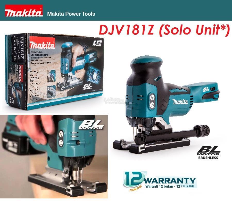 Makita 18V Cordless Brushless Barrel Handle Jigsaw (Solo)