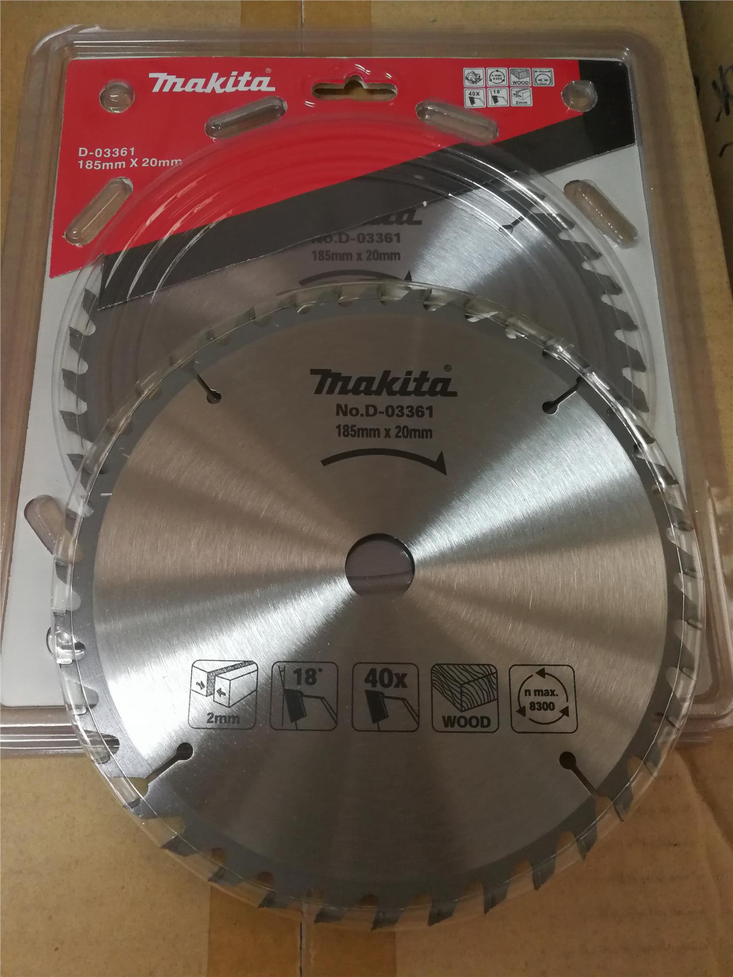 "Makita D-03361 Saw Blade 7""X40T"