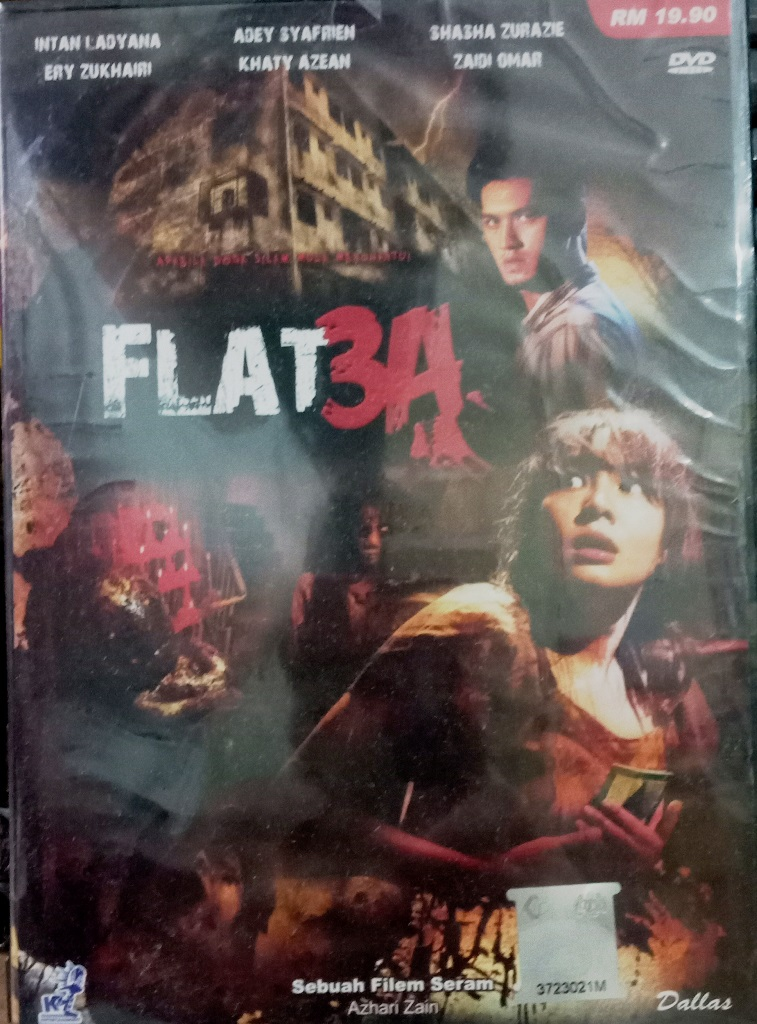 Malay Movie Flat 3A DVD