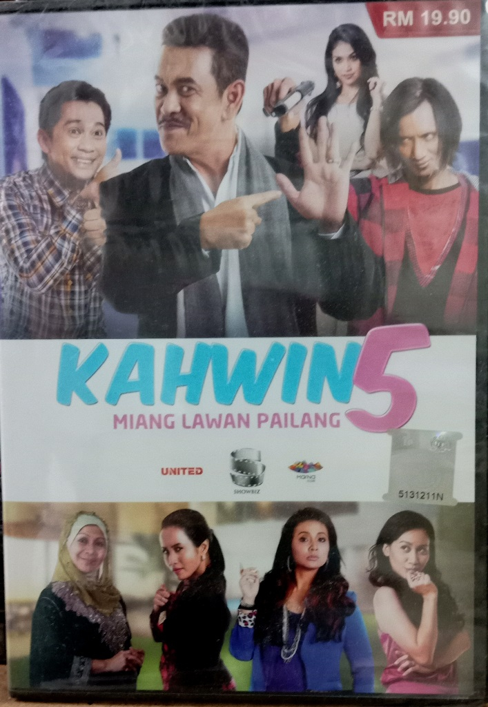 Malay Movie Kahwin 5 DVD