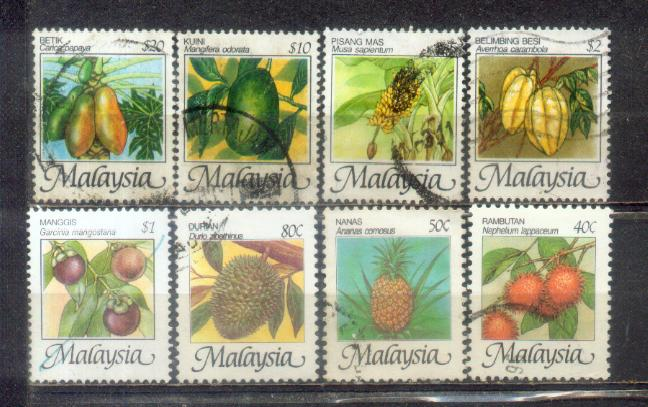 Malaysia 1986 High Value Complete Set Up to $20