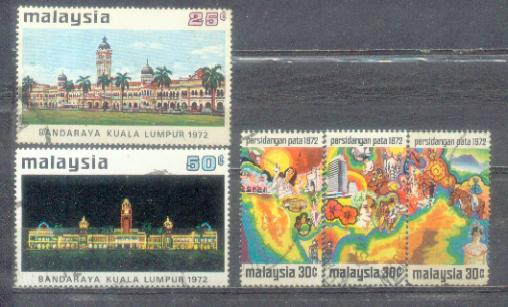 Malaysia 2 Set Issue on 1972