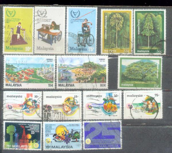 Malaysia 5 Set Issue on 1981