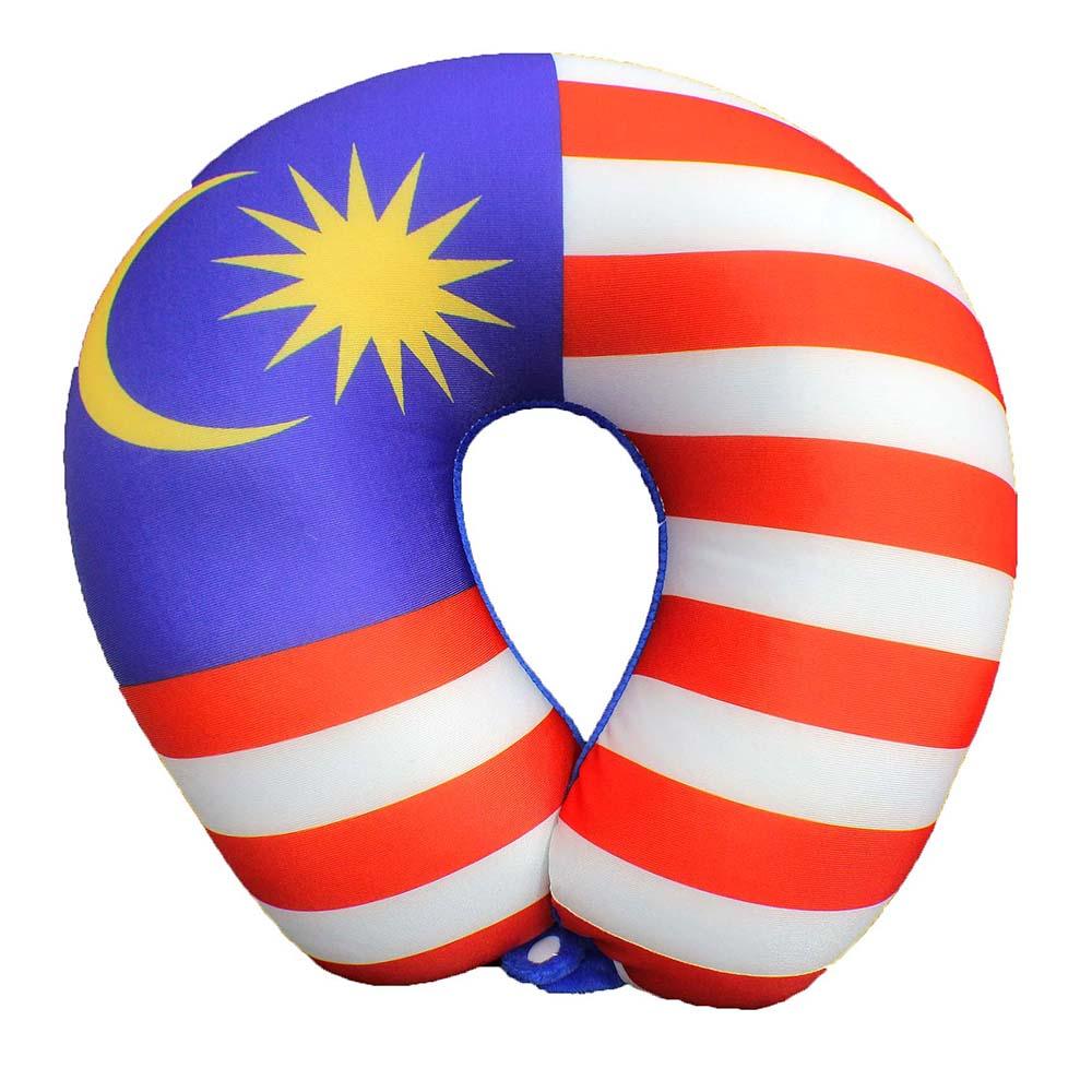 Malaysia Flag U-Shaped Neck Pillow (end 11/11/2020 4:57 PM