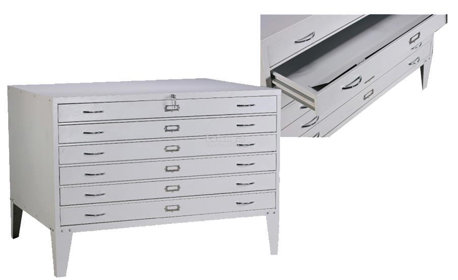 Malaysia Horizontal Plan File Cabinet-For AO Size Plan Paper
