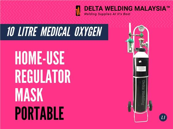 Malaysia Portable Medical Oxygen Gas with Trolley