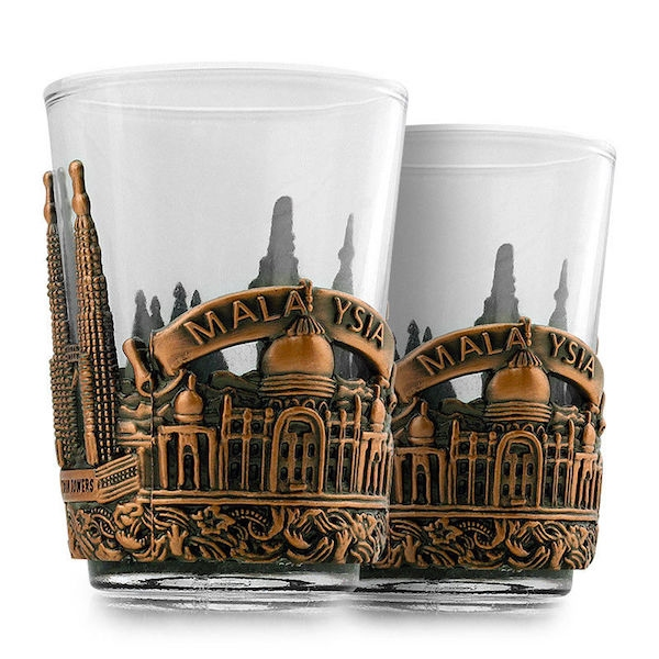 Kitchen Art Malaysia: Malaysia Souvenir Shot Glass New Deco (end 3/5/2020 3:30 PM