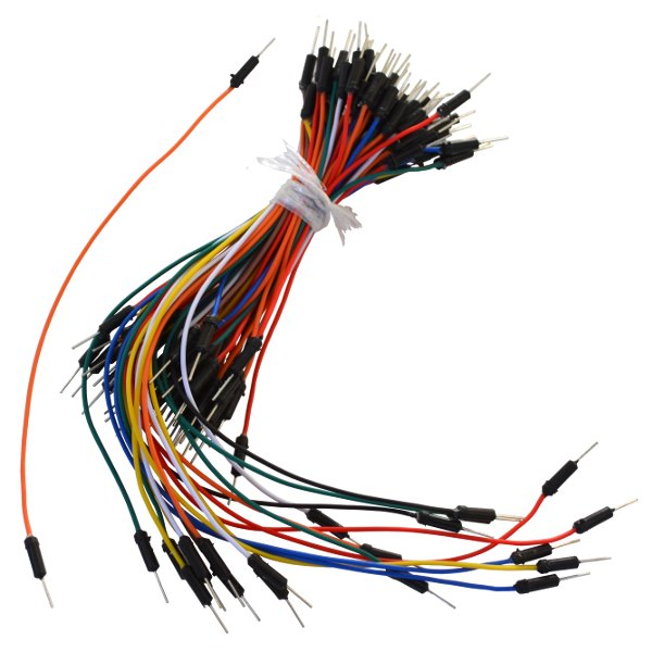 Male to Male Jumper Wires for Arduino  & breadboard - 65pcs