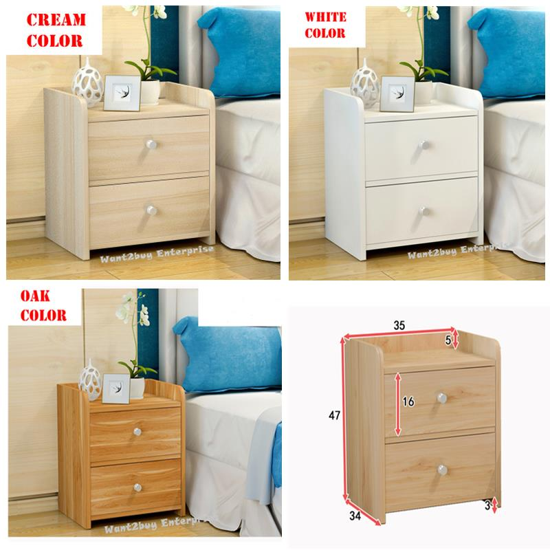 Famous Malm Chest Of 2 Drawer Bed Side Tabl (end 1/1/2020 11:15 PM) ZK86