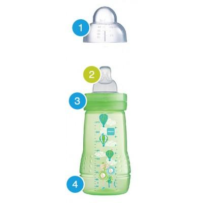 MAM Baby Bottle 330ml with Teat Size 3 (B331)