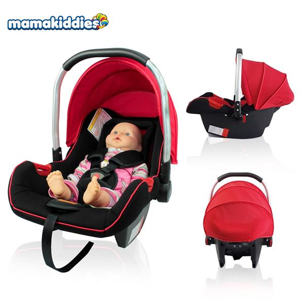 Infant Carrier Seat >> Mamakiddies New Born Infant Car Seat Baby Carrier Carseat Rocker Red