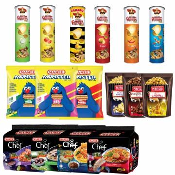 MAMEE All in One Combo Chef Instant Noodle Snack Mister Potato Perfect