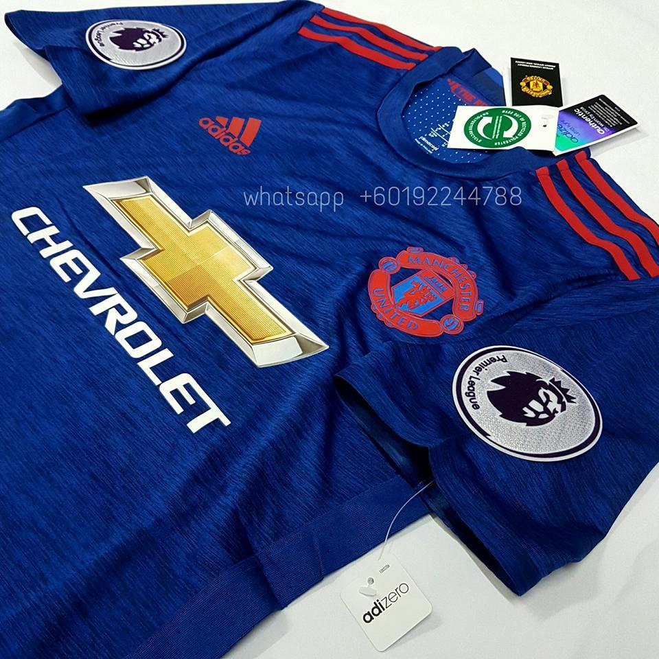 new product ec9b4 13bba manchester united player issue jersey