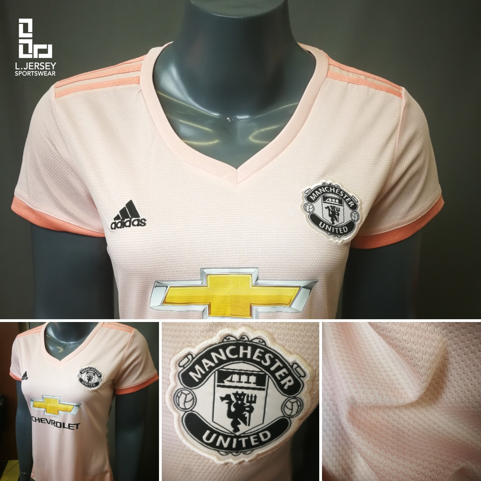 low priced 6bda2 a85ad Manchester United Women Away 2018/19 Fans Jersey