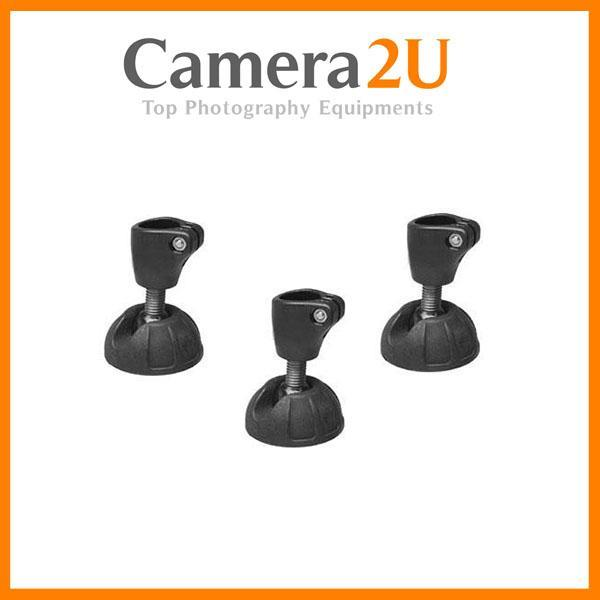 Manfrotto 190SCK2 Suction Cup Set (3) for Tube D19