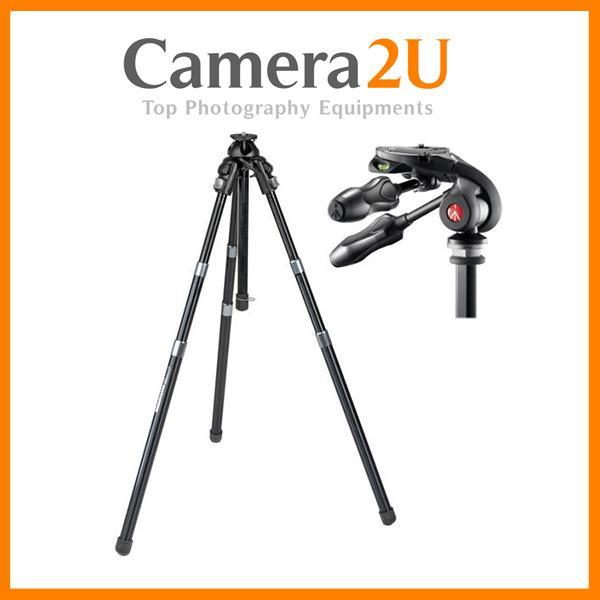 NEW Manfrotto 458B NeoTec Auto Tripod with MH293D3-Q2