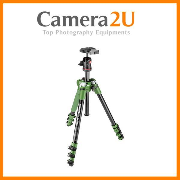 NEW Manfrotto BeFree Compact Travel Aluminium Tripod (Green)