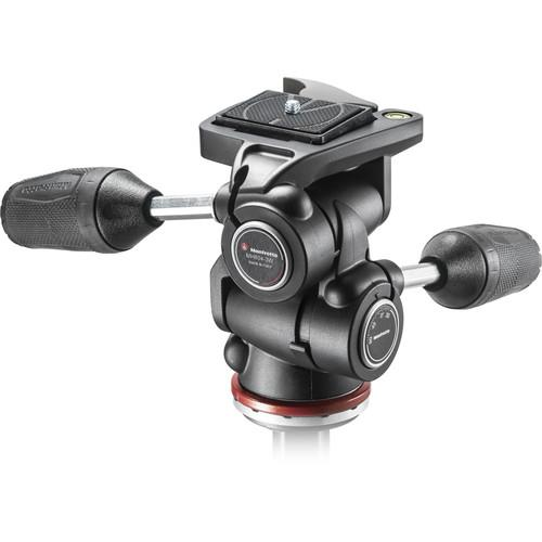 Manfrotto MH804 3-Way, Pan-and-Tilt Head with 200LT-PL Quick Release P