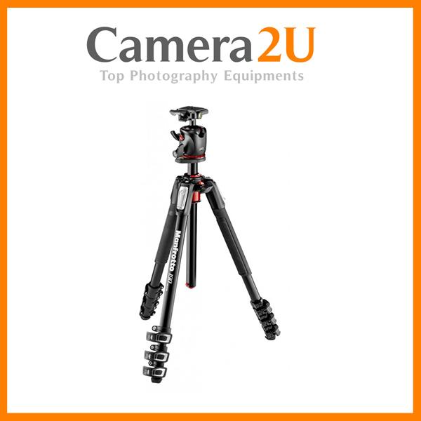 Manfrotto MK190XPRO4-BHQ2 Tripod with XPRO Ball Head