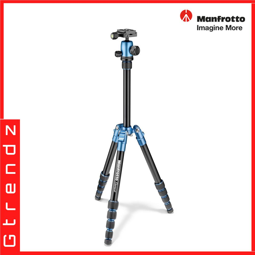 Manfrotto MKELES5BL-BH Element Traveller Tripod Small