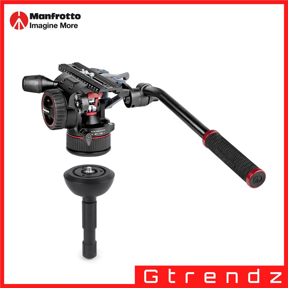 Manfrotto MVKN12TWINM Nitrotech N12 video Kit.