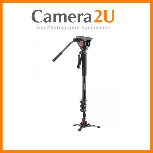 Manfrotto XPRO video monopod w Fluid head & FLUIDTECH base MVMXPRO500