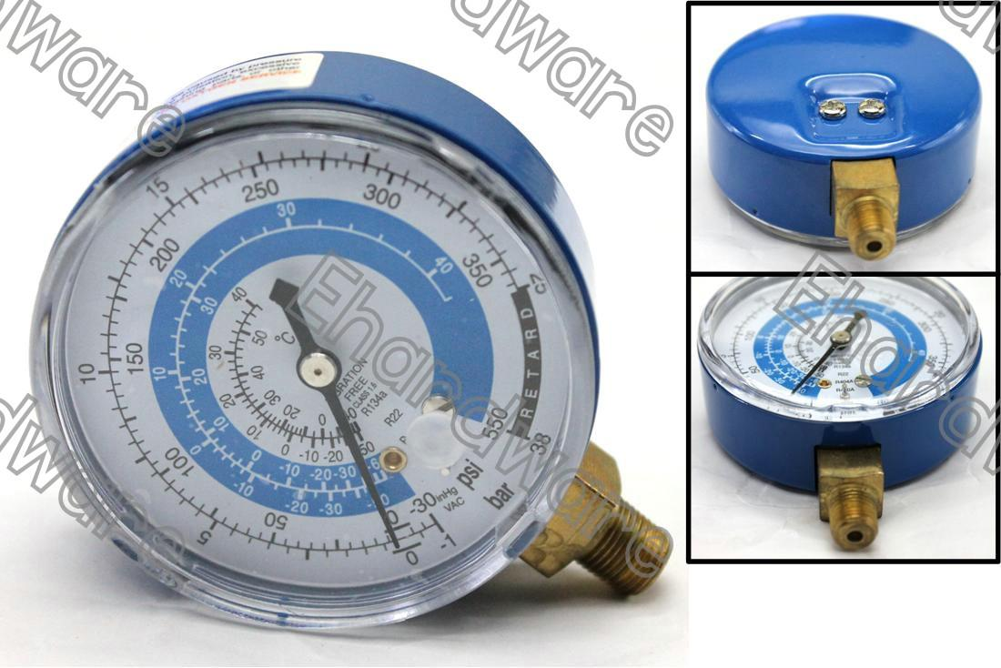 Manifold Replacement Gauge Low Side R22/R134a/R404a/R410a (MGR-B)