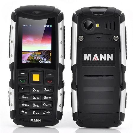 MANN ZUG S Rugged Phone, Waterproof, Shockproof (WP-ZUGS).