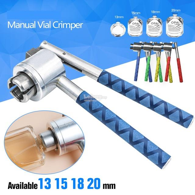 Manual Crimping Perfume Spray Bottle Seal Crimper Capping Machine