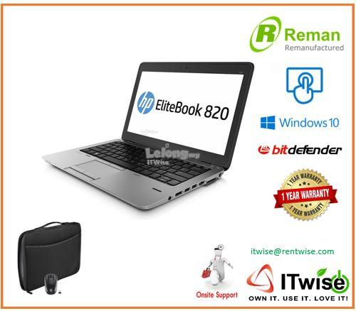 RE MANUFACTURED HP 820 G1 i7  / 1 YR ON-SITE WARRANTY/ 8GB RAM
