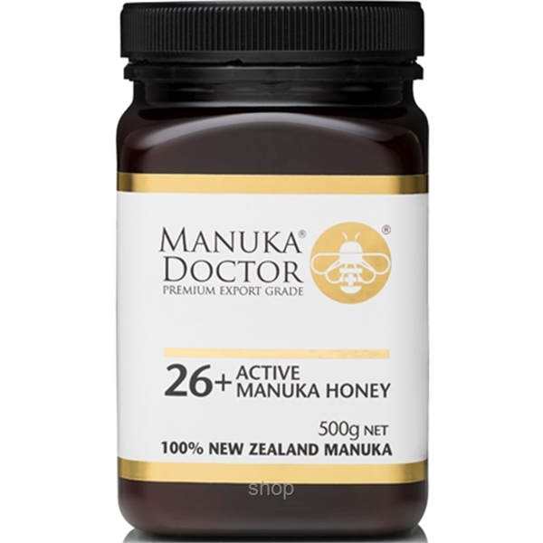 Manuka Doctor Active 26+ Manuka Creamed Honey 500g