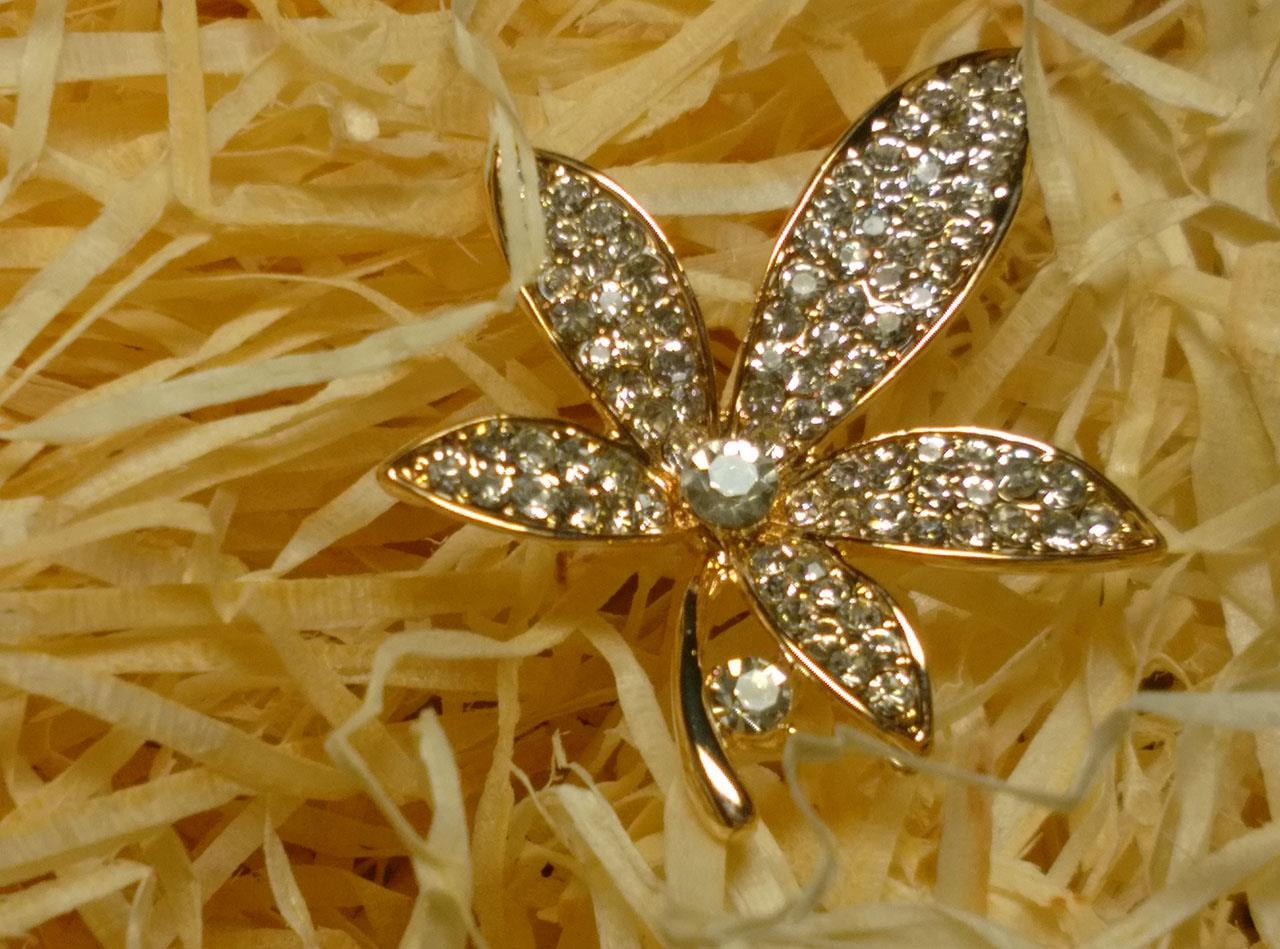 Maple Flower Brooch