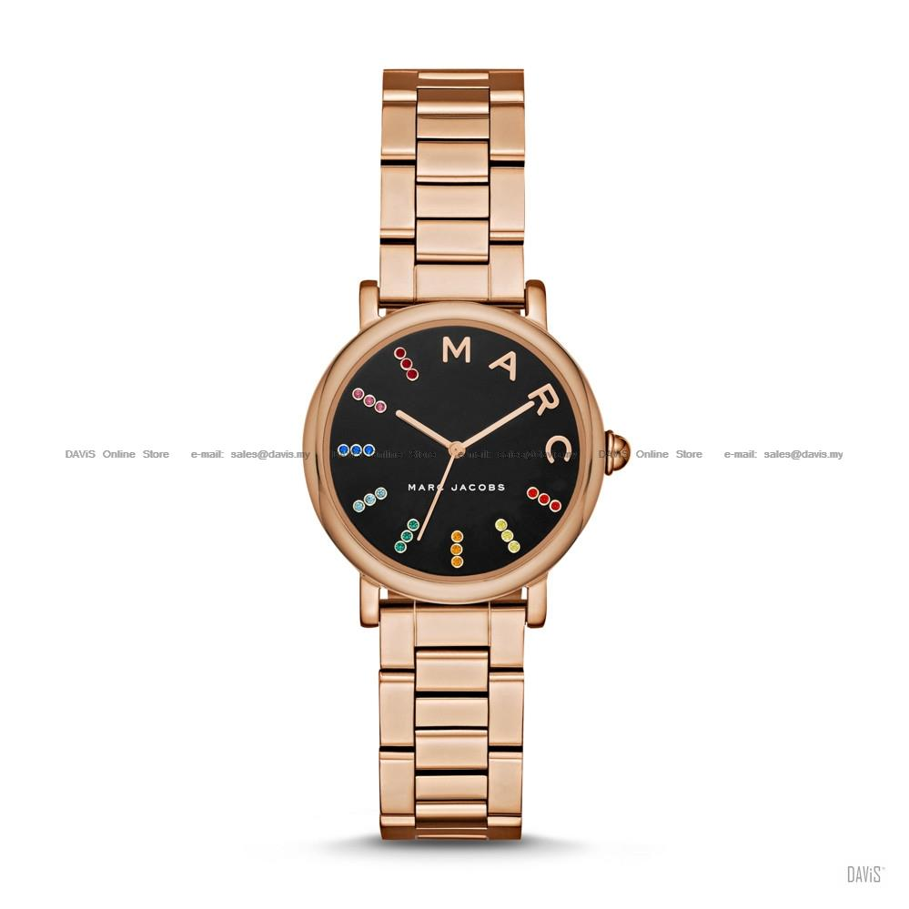 7da4e53bd28a9 MARC BY MARC JACOBS MJ3569 Classic 3-hand Glitz SS Bracelet Rose Gold. ‹ ›