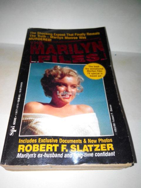 MARILYN MONROE - THE MARILYN FILES BOOK