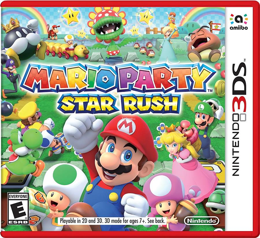 3ds Games 2020.Mario Party Star Rush Nintendo 3ds