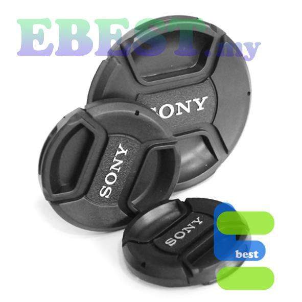 Mark II-Design Center-Pinch Cover Squeeze/ Lens Front Cap for Sony